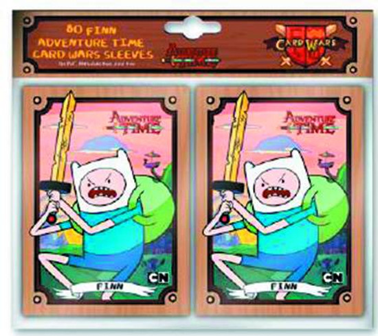 Adventure Time Trading Card Game Finn Card Sleeves [80 Count]