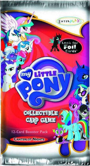 My Little Pony Trading Card Game Canterlot Nights Booster Pack [12 Cards]