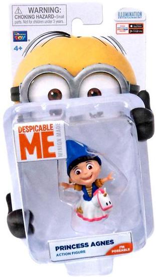 Despicable Me Minion Made Princess Agnes Action Figure