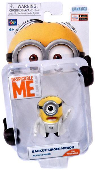 Despicable Me Minion Made Backup Singer Minion Action Figure