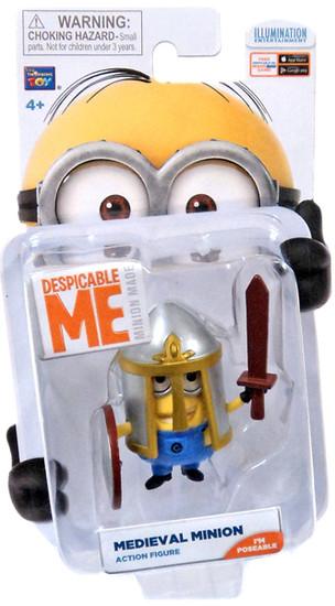 Despicable Me Minion Made Medieval Minion Action Figure