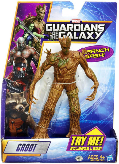 Marvel Guardians of the Galaxy Rapid Revealer Groot Action Figure