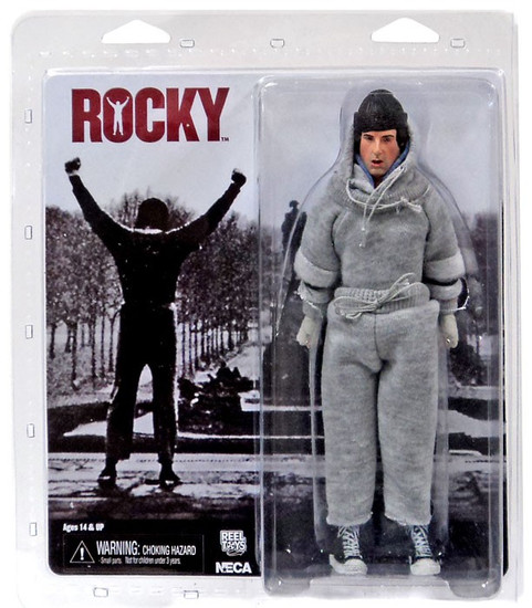 NECA Rocky Balboa Clothed Action Figure [Sweat Suit]