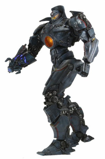 NECA Pacific Rim Ultra Deluxe Gipsy Danger Action Figure #01 [Battle Damaged]