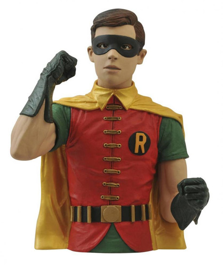 Batman 1966 TV Series Vinyl Bank Robin Bust
