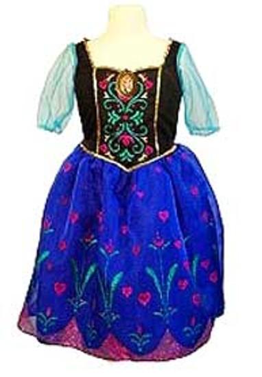 Disney Frozen Anna Dress Up Toy
