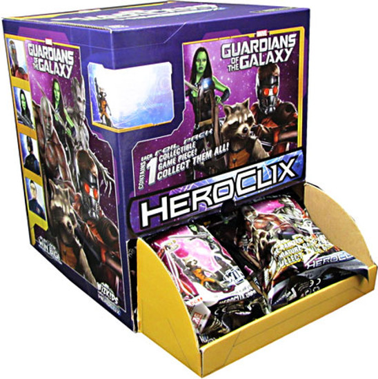 Marvel HeroClix Guardians of The Galaxy Movie Gravity Box Booster Box