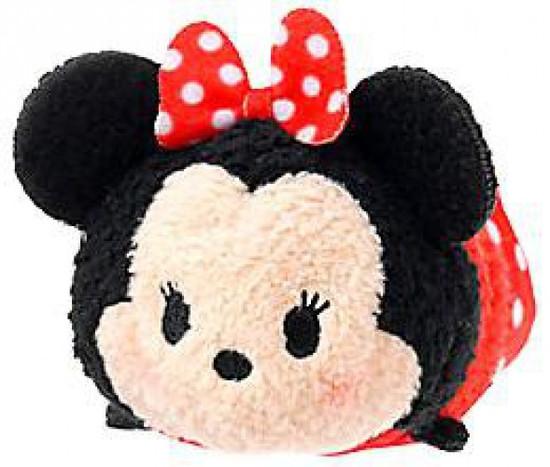 Disney Tsum Tsum Mickey & Friends Minnie Mouse Exclusive 3.5-Inch Mini Plush