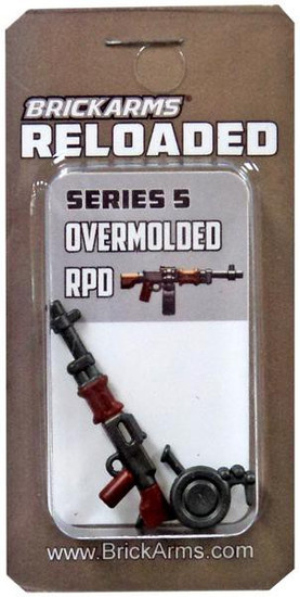 BrickArms Reloaded Series 5 Weapons RPD 2.5-Inch [Overmolded]