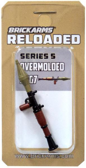 BrickArms Reloaded Series 5 Weapons RPG7 2.5-Inch [Overmolded]