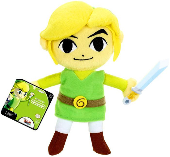 The Legend of Zelda World of Nintendo Link 7-Inch Plush [The Windwaker HD]