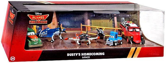 Disney Planes Fire & Rescue Dusty's Homecoming Exclusive Diecast Vehicle 6-Pack