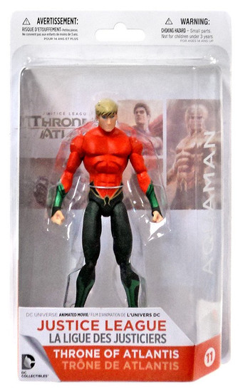 DC Justice League: Throne of Atlantis Aquaman Action Figure