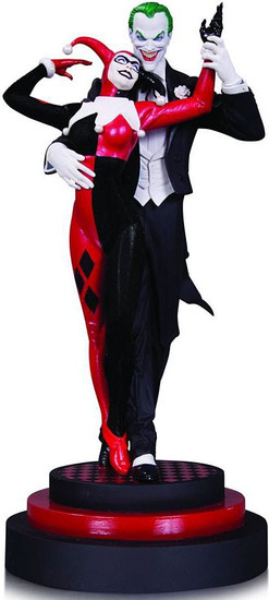Batman The Joker & Harley Quinn Statue
