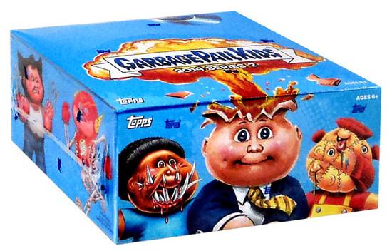 Garbage Pail Kids Topps 2014 Series 2 Trading Card RETAIL Box [24 Packs]