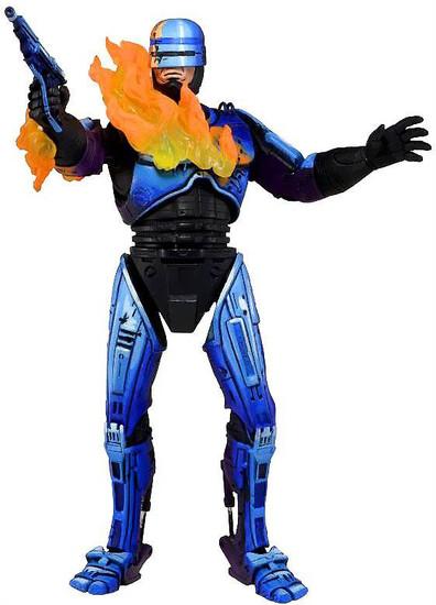 NECA RoboCop vs. The Terminator Series 2 Robocop Action Figure [Fire-Damage]