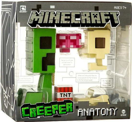 Minecraft Creeper Anatomy 8-Inch Vinyl Figure