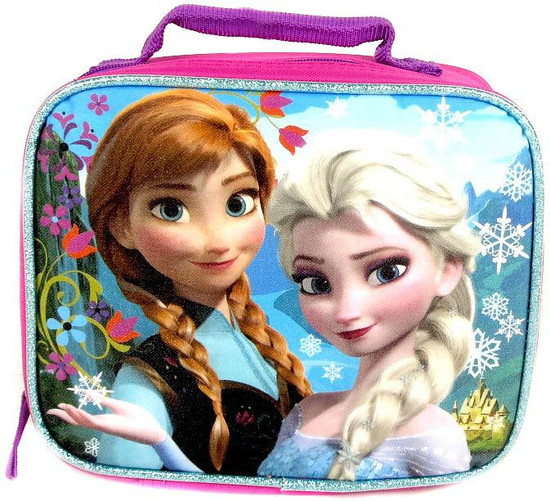 Disney Frozen Anna & Elsa Lunch Tote [Pink & Blue]