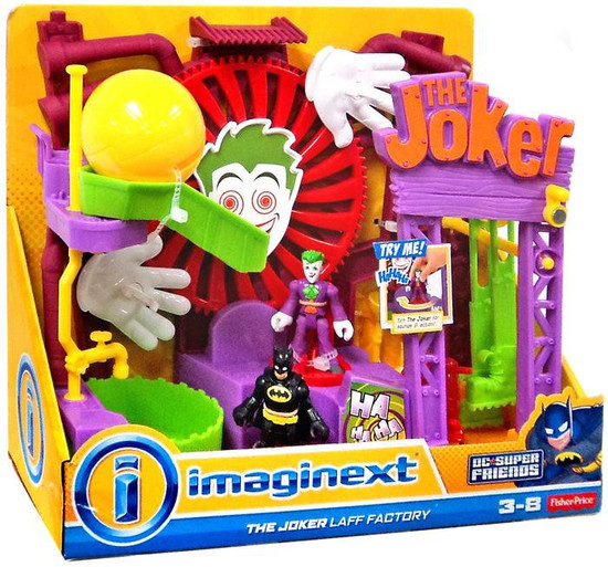 Fisher Price DC Super Friends Imaginext The Joker Laff Factory Playset [2014]