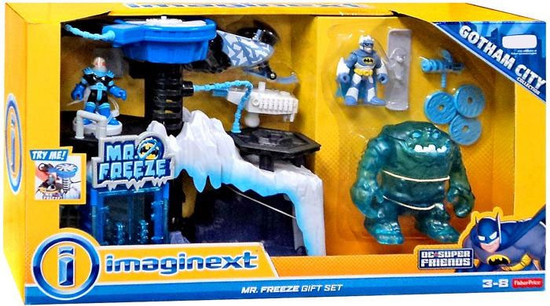 Fisher Price DC Super Friends Imaginext Mr. Freeze Gift Set Exclusive Playset