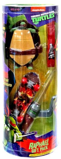 Teenage Mutant Ninja Turtles Nickelodeon Raphael Gift Pack
