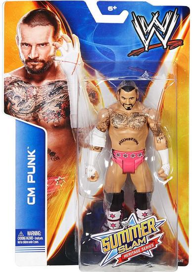 WWE Wrestling Summer Slam Heritage Series CM Punk Action Figure