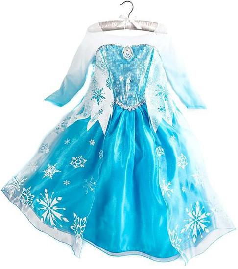 Disney Frozen Elsa Exclusive Dress Up Toy [Size 9/10]