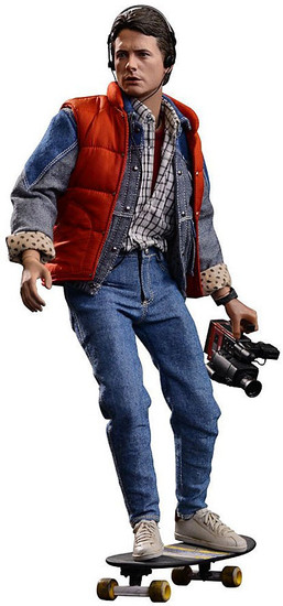 Back to the Future Movie Masterpiece Marty McFly Collectible Figure