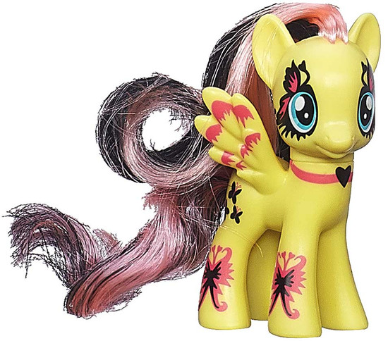 My Little Pony Friendship is Magic Ponymania Fluttershy 3-Inch Collectible Figure [Ponymania Loose]