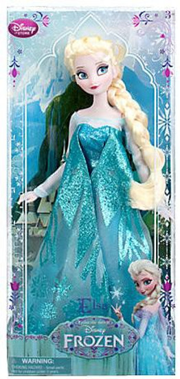 Disney Frozen Classic Elsa Exclusive 12-Inch Doll [2013, Damaged Package]