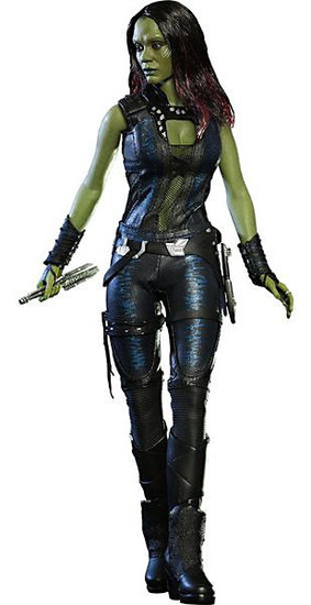 Marvel Guardians of the Galaxy Movie Masterpiece Gamora Collectible Figure