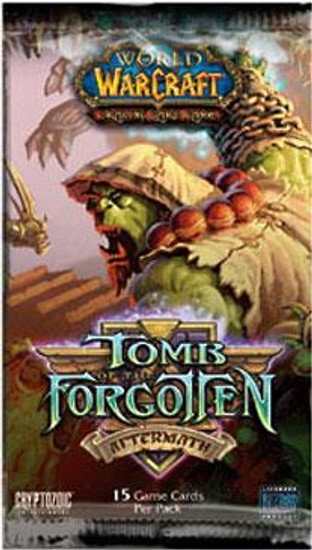 World of Warcraft Trading Card Game Tomb of the Forgotten Booster Pack