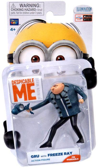 Despicable Me Minion Made Gru with Freeze Ray Action Figure