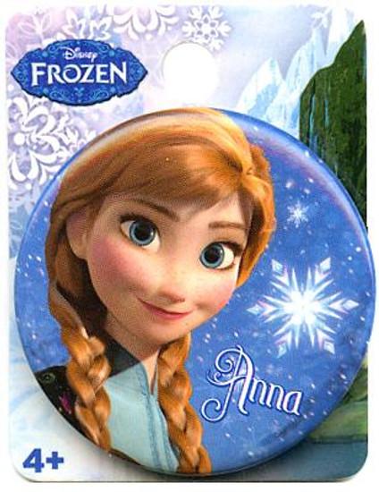 Disney Frozen Anna 1.5-Inch Button