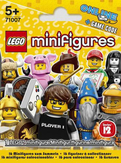 LEGO Minifigures Series 12 Mystery Pack [1 RANDOM Figure]