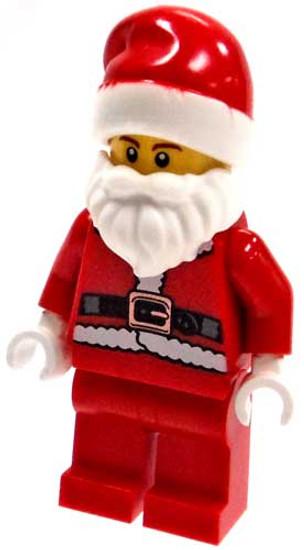 LEGO Minifigure Santa #1 [Loose]