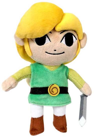 The Legend of Zelda The Windwaker HD Link 8-Inch Plush