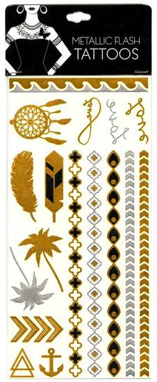 Metallic Flash Tattoos [#14795]