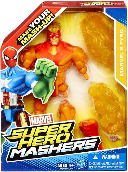Marvel Super Hero Mashers Pyro Action Figure