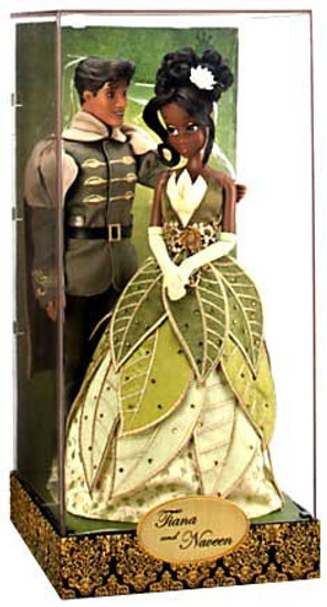 Disney Fairytale Designer Collection Princess Tiana & Prince Naveen Exclusive 11.5-Inch Doll Set