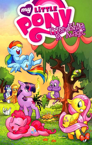 My Little Pony Friendship is Magic Volume 1 Trade Paperback