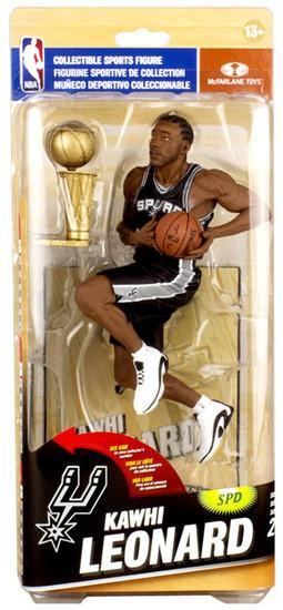McFarlane Toys NBA San Antonio Spurs Sports Picks Series 26 Kawhi Leonard Action Figure [Black Uniform]