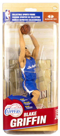 McFarlane Toys NBA Los Angeles Clippers Sports Picks Series 26 Blake Griffin Action Figure