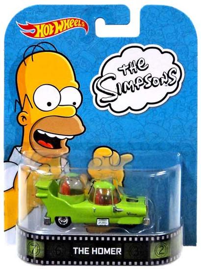 Hot Wheels The Simpsons HW Retro Entertainment The Homer Diecast Car