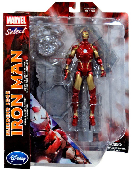 Marvel Select Bleeding Edge Iron Man Exclusive Action Figure