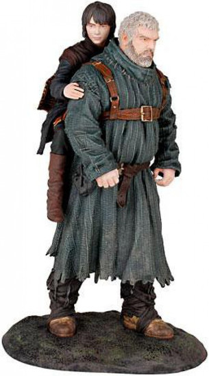 Game of Thrones Hodor & Bran Stark 9-Inch PVC Statue Figure