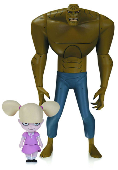 The Animated Series The New Batman Adventures Killer Croc Action Figure [With Baby Doll]