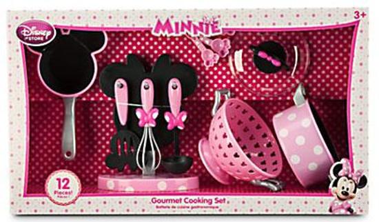 Disney Minnie Mouse Gourmet Cooking Set Exclusive Playset [2014, Set #2]