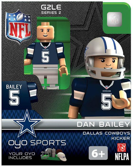Dallas Cowboys NFL Generation 2 Series 2 Dan Bailey Minifigure