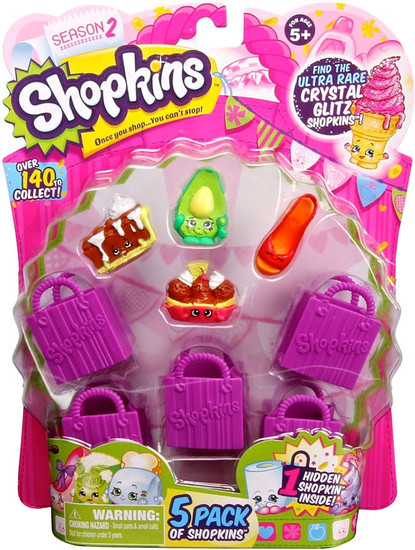 Shopkins Season 2 Mini Figure 5-Pack